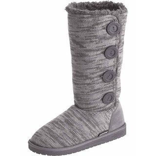 Legendary Whitetails Women's Morning Frost Slipper Boots - shadow gray