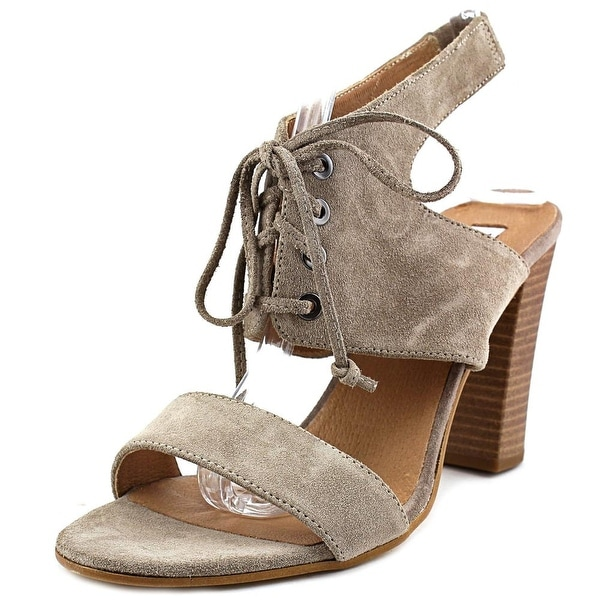 Dune London Irana Women Open Toe Suede Gray Sandals