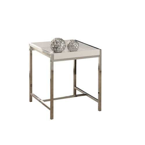 Romy Square Metal Coffee Table Am Pm: Shop Monarch Specialties Side Table VII 20 Inch Tall