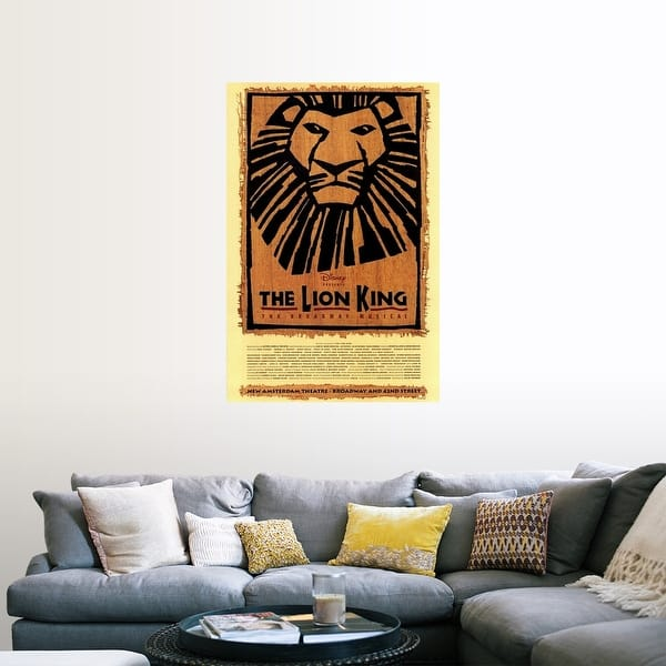 Shop The Lion King The Broadway Musical Broadway Poster Print Overstock 24135057