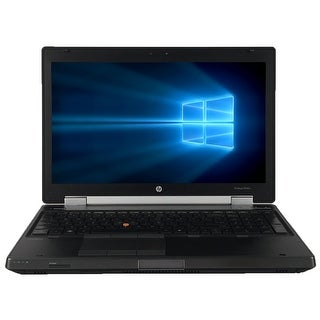"Refurbished HP EliteBook 8560W 15.6"" Laptop Intel Core i7-2720QM 2.2G 8G DDR3 500G DVDRW Win 7 Pro 64-bit 1 Year Warranty"