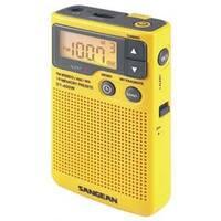Sangean SAN-DT400WM AM/FM Digital Weather Alert Pocket Radio