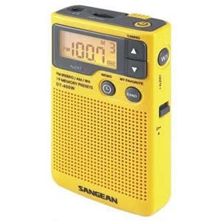 Sangean SAN-DT400WM AM/FM Digital Weather Alert Pocket Radio