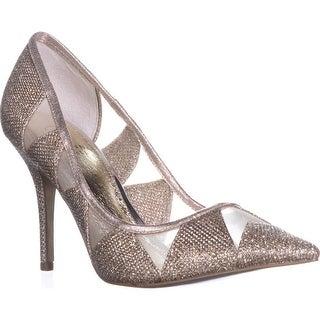 Adrianna Papell Women's Addison Dress Pump Platinum Size 7.0