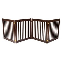 Four Panel EZ Pet Gate - Small/Black
