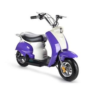 MotoTec Purple 24v Electric Moped