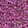 Miyuki Delica Seed Beads 11/0 Galvanized Matte Magenta DB1173 7.2 Grams - Thumbnail 0