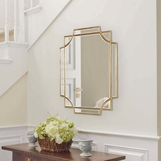 Link to Kate and Laurel Minuette Decorative Framed Wall Mirror Similar Items in Decorative Accessories