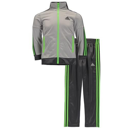 2d0f578a7 Shop Adidas Boys 2T-4T Icon Tricot Jacket Set - Free Shipping On Orders  Over $45 - Overstock - 18689973