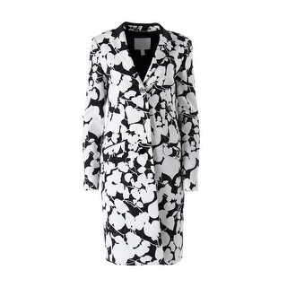 BOSS Hugo Boss Womens Cenna Textured Long Sleeves Blazer - 0