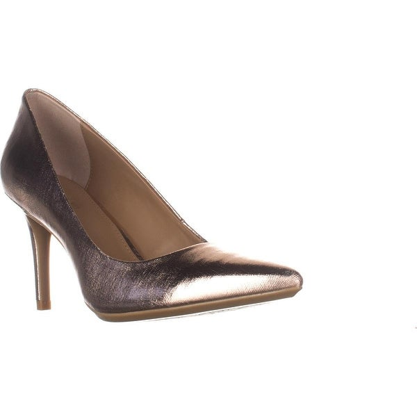 Calvin Klein Gayle Classic Pump Heels, Rose Quartz