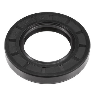Oil Seal, TC 40mm x 70mm x 10mm, Nitrile Rubber Cover Double Lip - 40mmx70mmx10mm