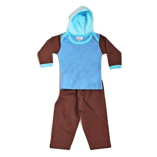 Loralin Design HB12 Boy Hoodie Set, 12-18 Months
