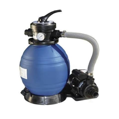 """12"""" Sand Filter Combo - 0.33 Hp"""