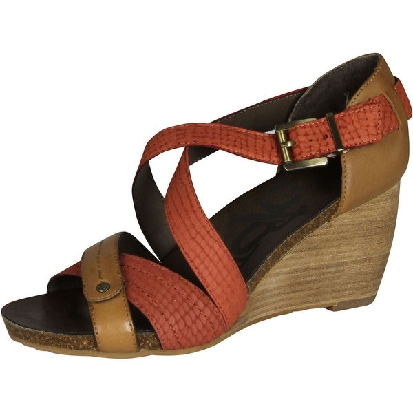 08a86d2e1dcc Otbt Womens Landcaster Fashion Wedge Sandals - Free Shipping Today ...