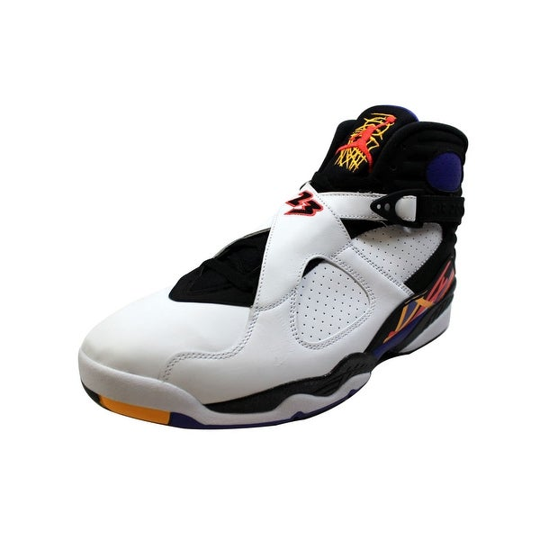 7a8cff787f1bae Shop Nike Men s Air Jordan VIII 8 Retro White Infrared 23-Black ...