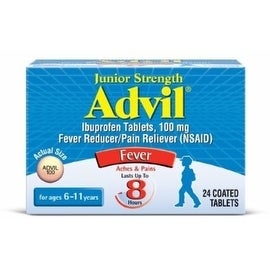 Advil Chewable Tablets Junior Strength 100 mg, Grape 24 ea