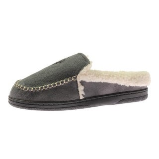 U.S. Polo Assn. Mens Indoor/Outdoor Sole Cushion Comfort Moccasin Slippers - S
