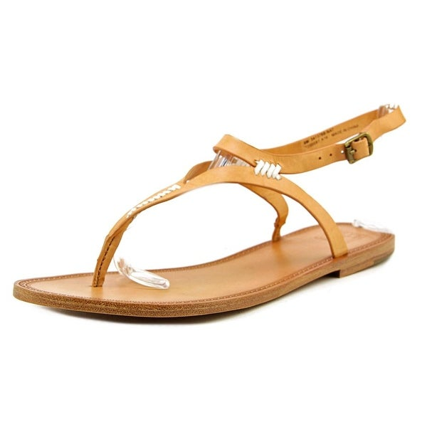 Frye Ruth Whipstitch Women Natural Sandals