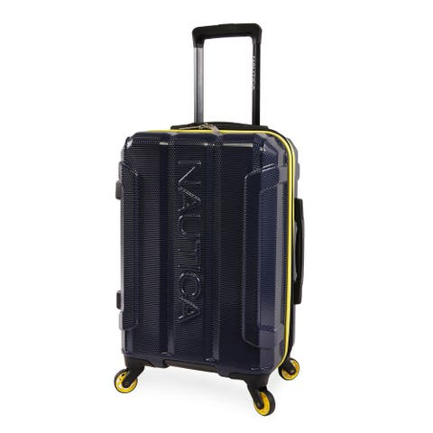 """Nautica Birch 21"""" Carry On Hardside Spinner Luggage"""
