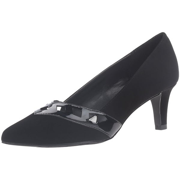 Easy Street Womens Valiant Closed Toe Classic Pumps