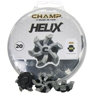 Champ Helix PINS System Soft Spike Replacement Golf Cleats - Silver|https://ak1.ostkcdn.com/images/products/is/images/direct/04d1e45eaa2927d4f5e30198899e1cf1623c7619/Champ-Golf-Helix-PINS-Soft-Spike-Replacement-Cleats-%2820pk%29%2C-Brand-NEW.jpg?impolicy=medium