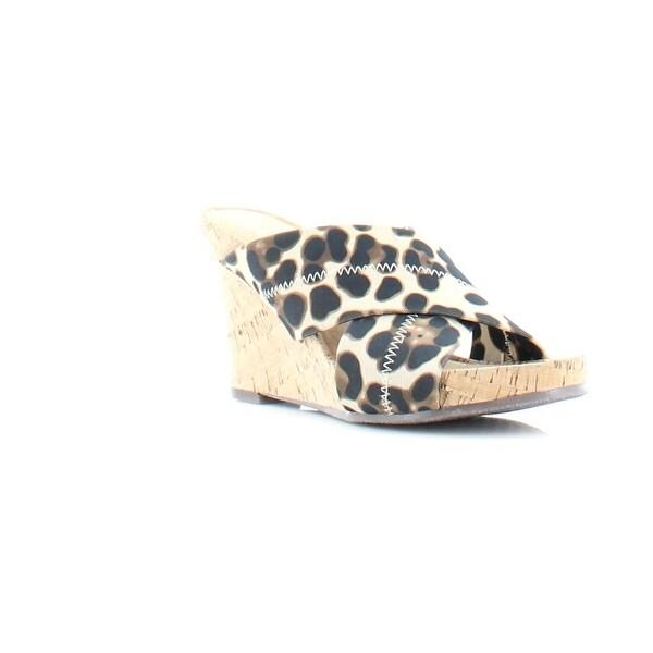 Aerosoles Party Plush Women's Sandals & Flip Flops Leopard Combo