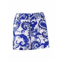Inc International Concepts Women's Printed Shorts - speckled pais