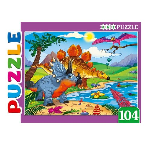 Dinosaurs 104 pc. Jigsaw small Puzzle for Kids