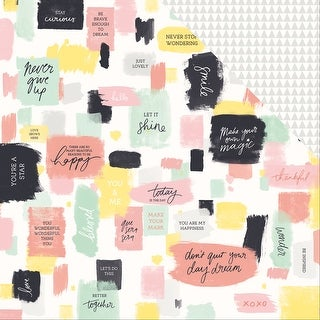 "Daydreamer Double-Sided Cardstock 12""X12""-Playful"