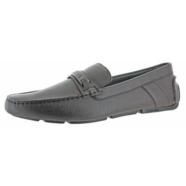 Calvin Klein Men's Marcell Driving Moc Loafers Shoes