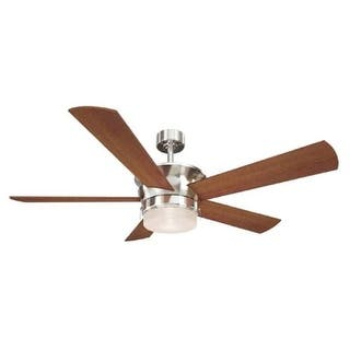 Led canarm ceiling fans for less overstock canarm cf52cap5 capital capital light 5 blade integrated led hanging ceiling fan mozeypictures Gallery