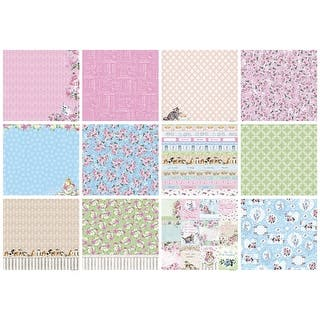 "Scrapberry's A Furry Little Story Paper Pack 12""X12"" 6/Pkg-