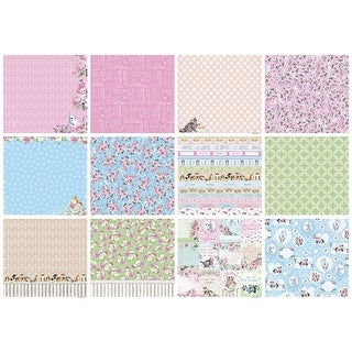"""Scrapberry's A Furry Little Story Paper Pack 12""""X12"""" 6/Pkg-"""