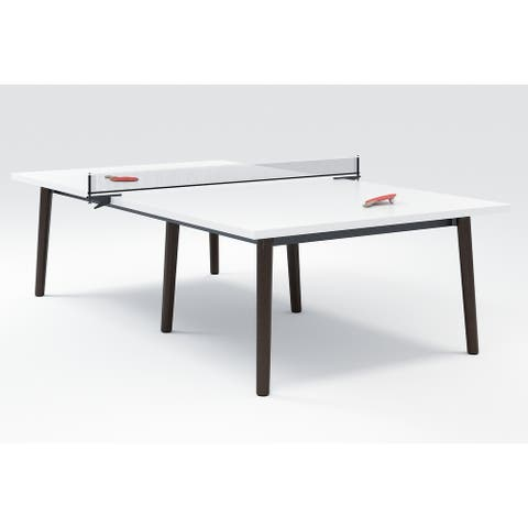 "Olio Designs Della Laminate Ping Pong Table - 29"" H x 60""W x 108"" D"