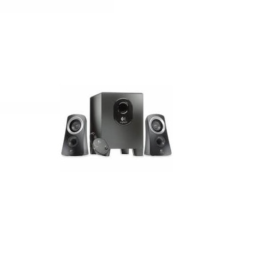 Logitech 980-000382 Z313 Speaker System With Subwoofer Black