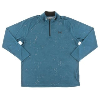 Under Armour Mens 1/4 Zip Pullover Perforated Yoga - 2XL