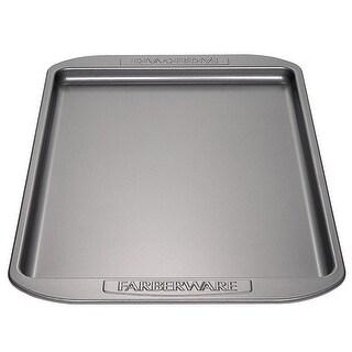 Farberware Nonstick Bakeware 10-Inch x 15-Inch Cookie Pan Gray - grey