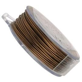 Vintaj Natural Brass Wire 22 Gauge (60 Foot Spool)