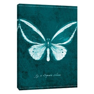 "PTM Images 9-108431  PTM Canvas Collection 10"" x 8"" - ""Butterfly F"" Giclee Butterflies Art Print on Canvas"
