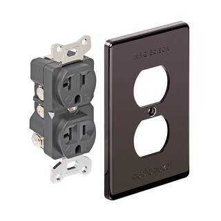 AudioQuest NRG Edison Duplex Wall Outlet - 20 Amp