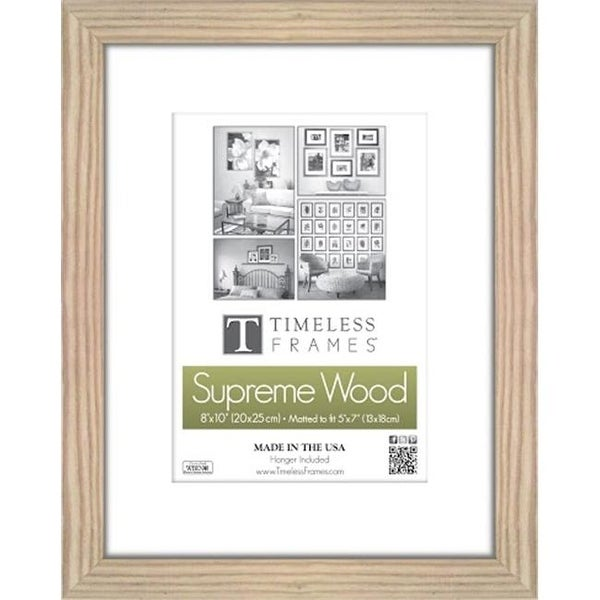 Shop Timeless Frames 73243 Regal Natural Wall Frame, 8 x 12 in ...