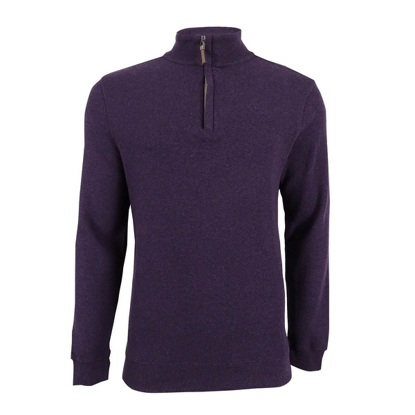 Tasso Elba Men's Quarter-Zip Pullover