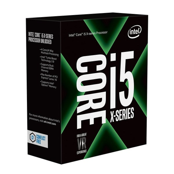 Intel Bx80677i57640x Core I5-7640X X-Series 4.0 Ghz Quad-Core Lga 2066 Processor