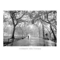 ''Poet's Walk, New York City'' by Henri Silberman New York Art Print (23.5 x 31.5 in.)