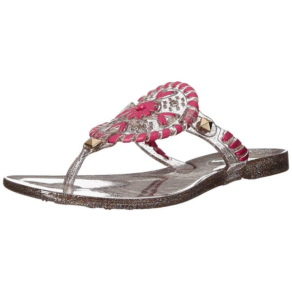 74a5997d1629 Jack Rogers Miss Sparkle Georgica Jelly Sandal (Toddler Little Kid Big Kid)