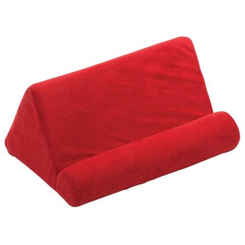 Tablet Sofa - Lap Cushion Tablet, Keyboard, Laptop Holder - Red
