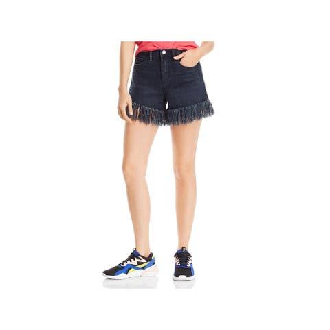 [BLANKNYC] Womens Lenox Cutoff Shorts High Rise Denim - Vixen