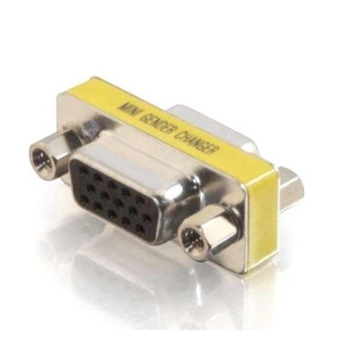 C2g 18962 Hd15 Vga Female Female Mini Gender Changer Coupler