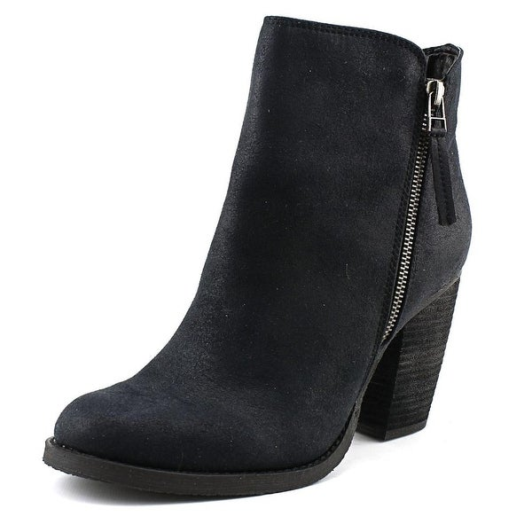 Sbicca Percussion Women Round Toe Synthetic Black Ankle Boot